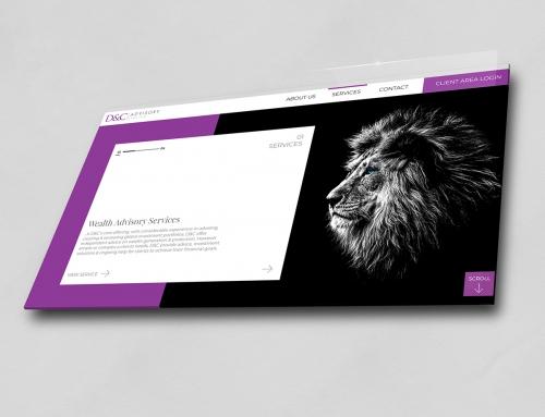 D&C Advisory and D&C Consultants – Website design