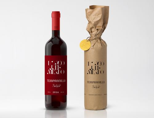 Bosco del Merlo. Wine label and packaging design