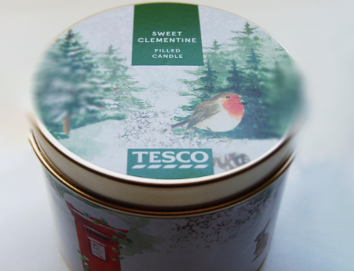 Tesco. Xmas 2018 homeware design